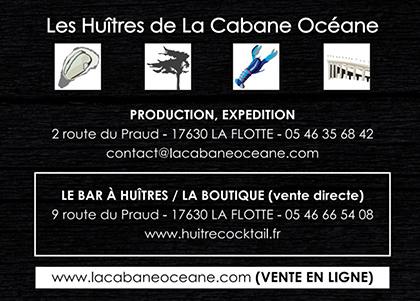 Contacter la Cabane Océane